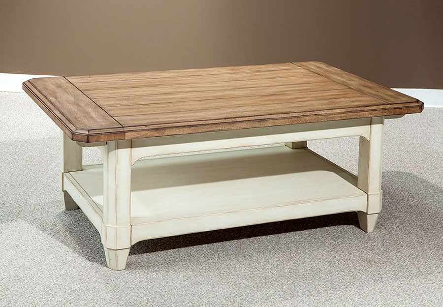 Palmetto Home Millbrook Rectangular Cocktail Table