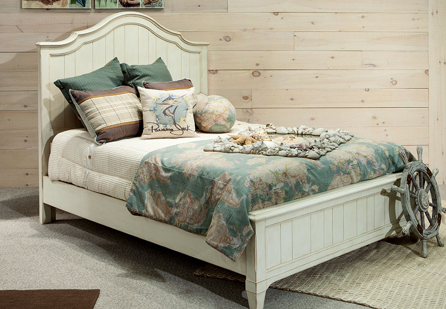 Panama Jack Millbrook Queen Headboard, Footboard, and Rails