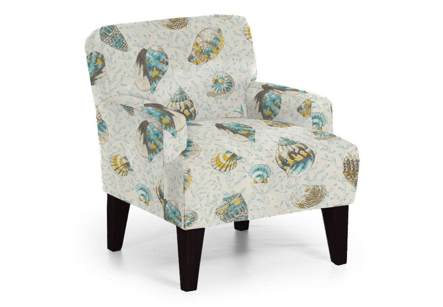 Best Randi Caribbean Accent Chair
