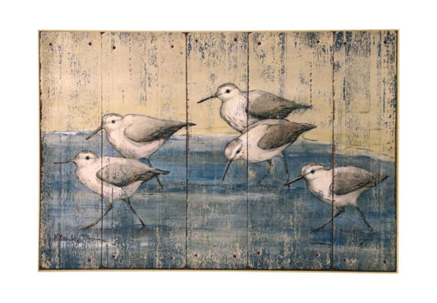 "StyleCraft Textured Sandpipers - 24.5"" x 36.5"""