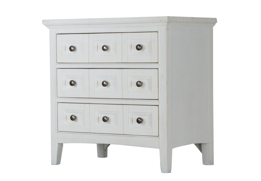Magnussen Heron Cove Three-Drawer Nightstand