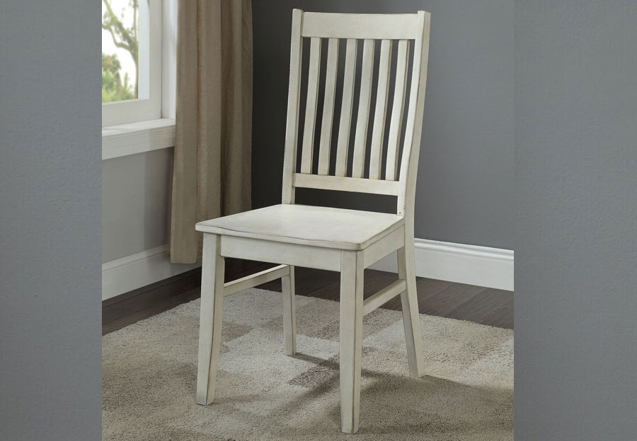 Coast To Coast Orchard White Rub Dining Chair