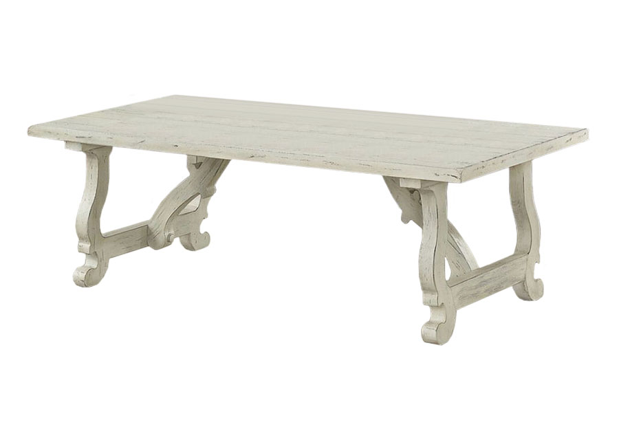 Coast To Coast Orchard White Rub Cocktail Table
