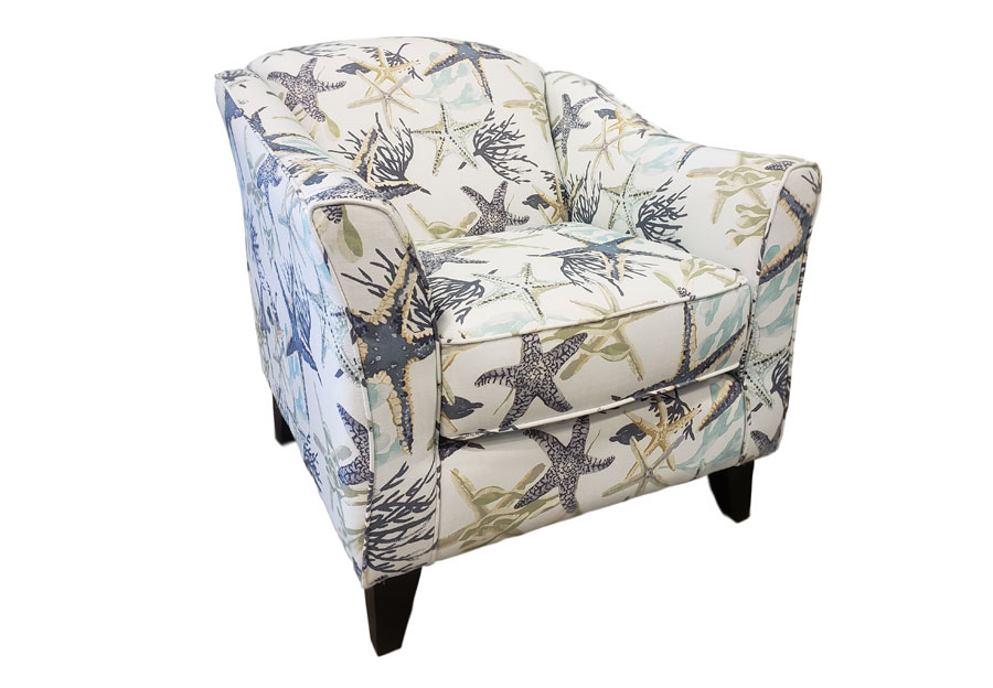 Fusion Savannah Ocean Accent Chair