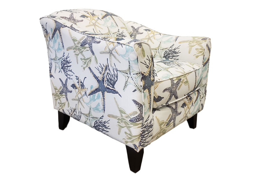 Fusion Savanah Ocean Accent Chair