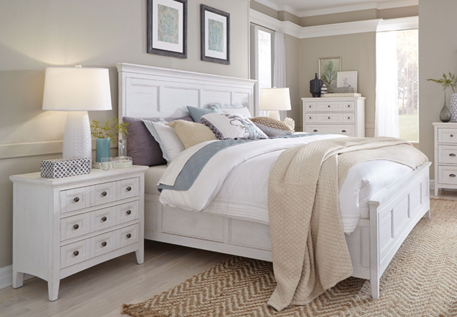 Magnussen Heron Cove King Headboard, Footboard and Rails