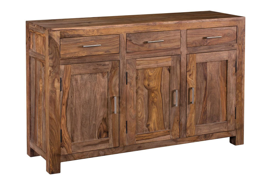 Coast to Coast Brownstone Three Door Three Drawer Sideboard