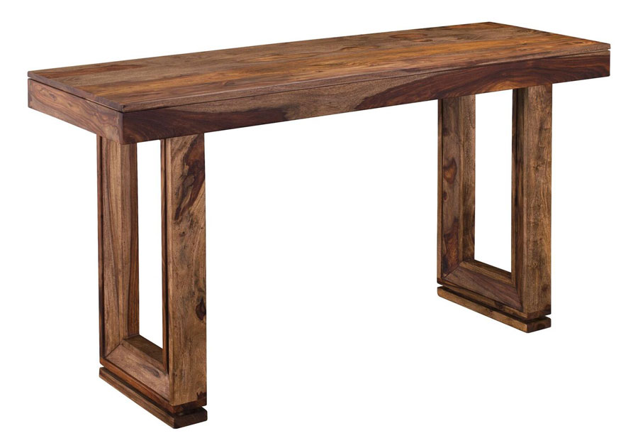 Coast to Coast Brownstone Sofa Table