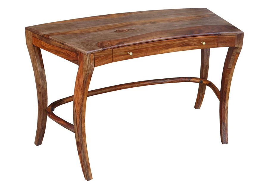 Coast to Coast Brownstone One Drawer Writing Desk