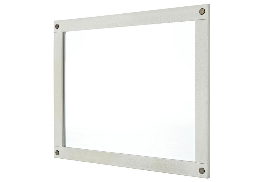 Lifestyles Crestview White Wash Mirror