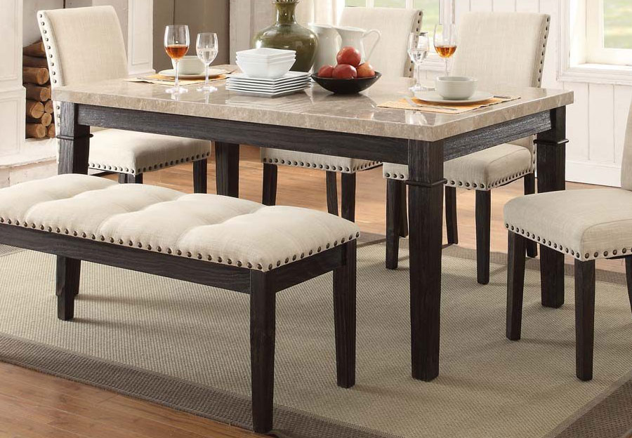 Elements Greystone Dining Table