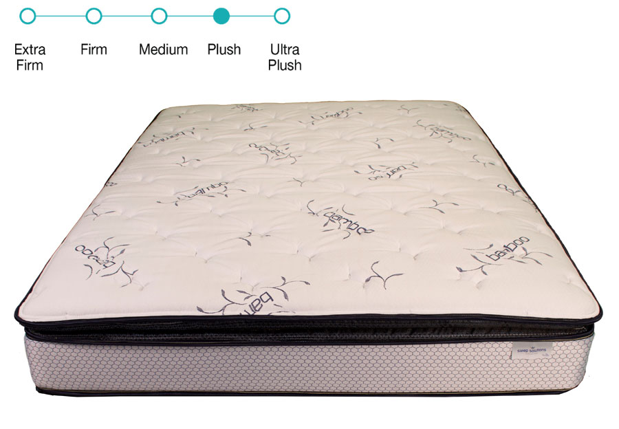 Solstice Sleep Products Queen Montage II Plush Pillow Top Mattress