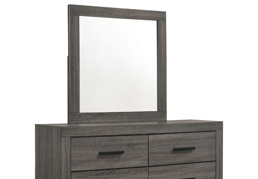 Lifestyles Midtown Grey Mirror