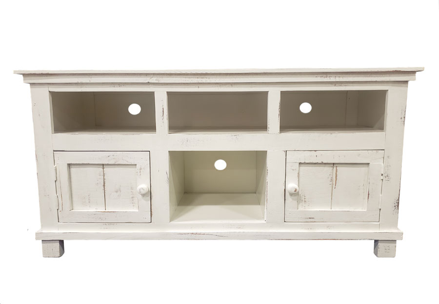Vintage Furniture Ryder Nero White 50-Inch Media Console