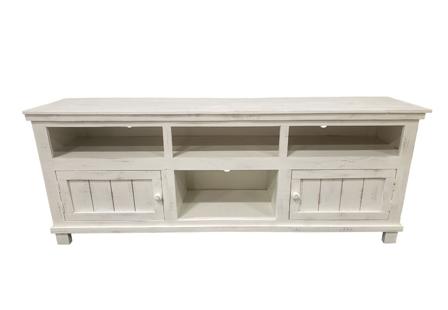 Vintage Furniture Ryder Nero White 70-Inch Media Console