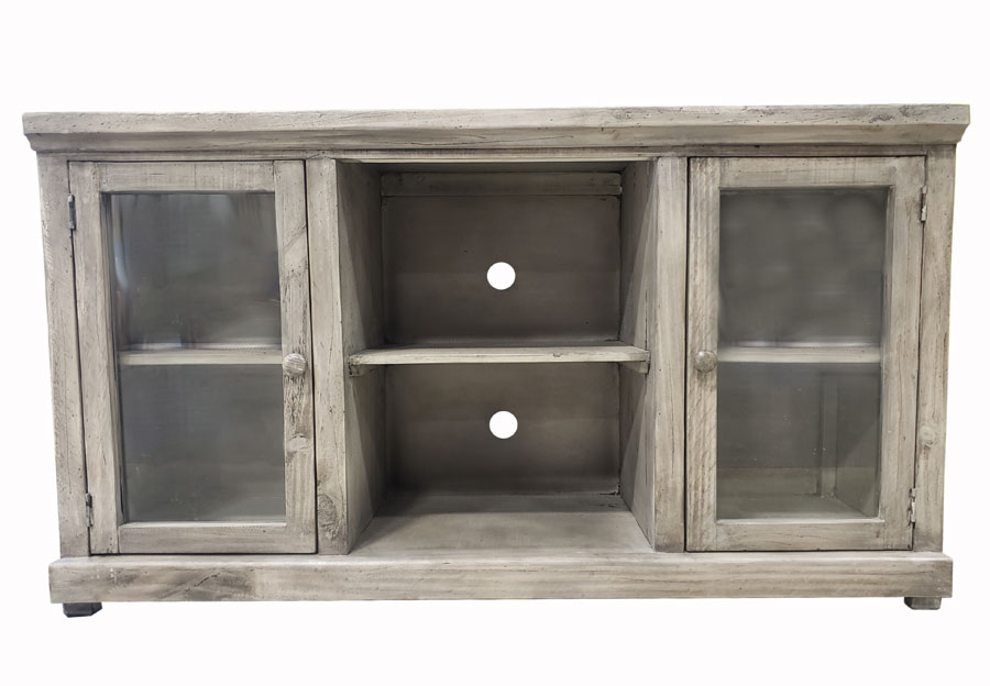 Vintage Furniture 54in Garrison Media Console In Granite