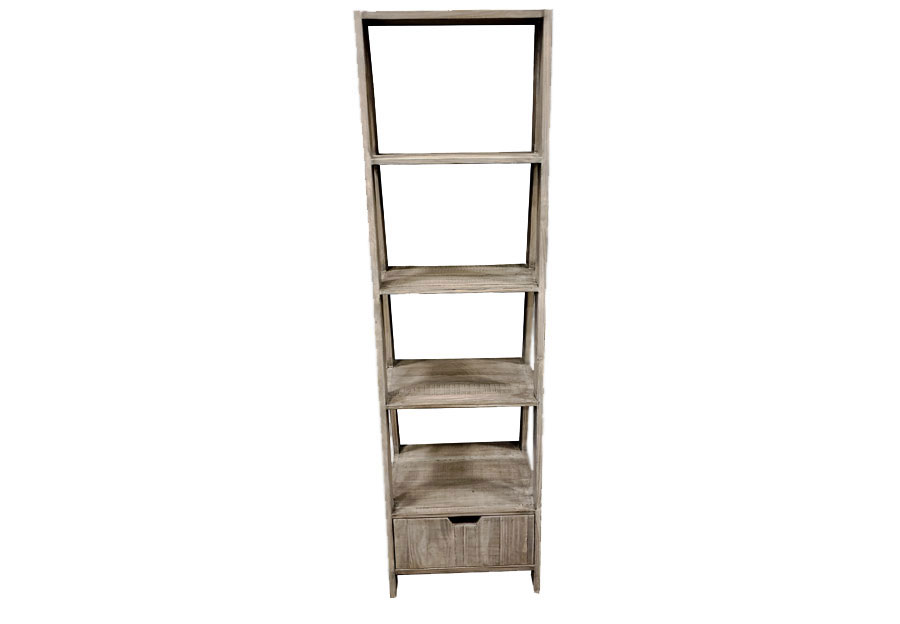 Vintage Furniture Granite Ladder Bookcase