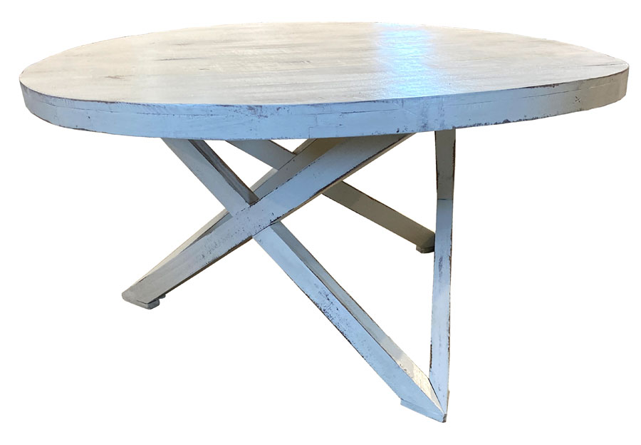 Vintage Furniture Galaxy Coffee Table In Nero White