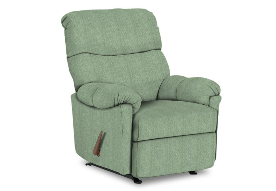 Best Balmore Seaglass Swivel Rocker Recliner