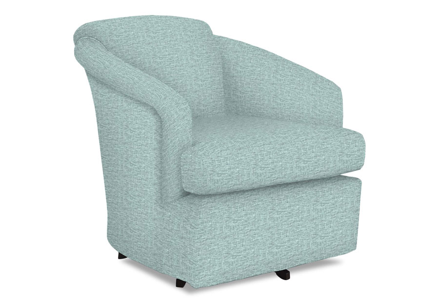 Best Cass Powder Swivel Chair
