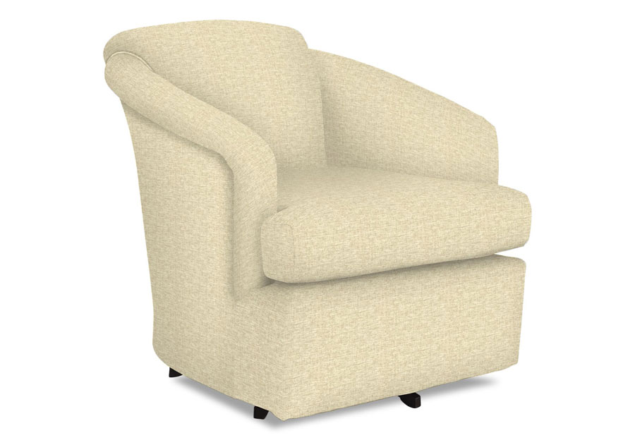 Best Cass Tan Swivel Chair