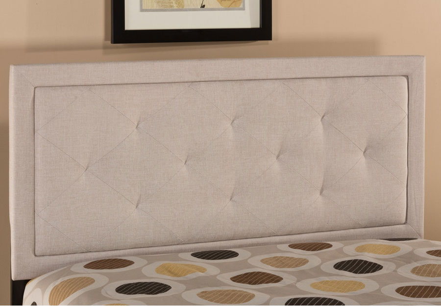 Hillsdale King Headboard Becker Cream