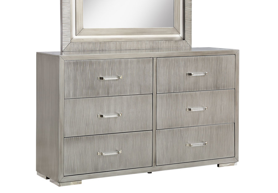 Lifestyles Meridian Six Drawer Dresser