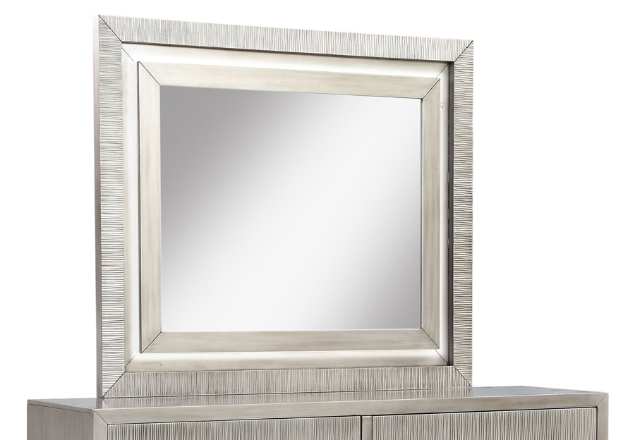 Lifestyles Meridian Beveled Mirror