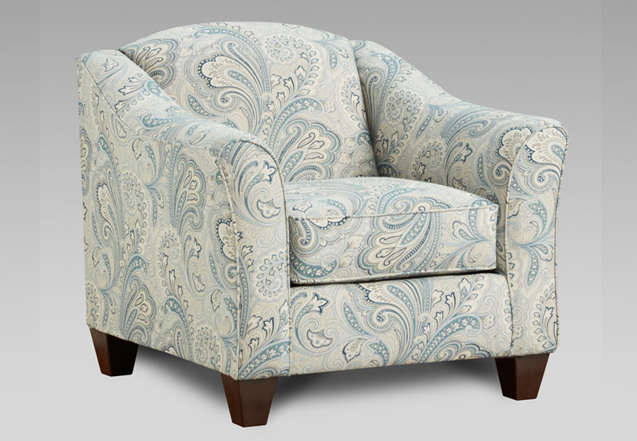 Affordable Furniture Barilla Denim Accent Chair