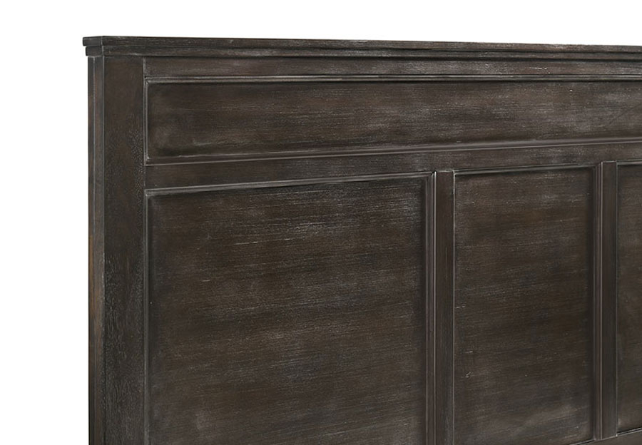 New Classic Andover Nutmeg King Headboard, Footboard and Rails