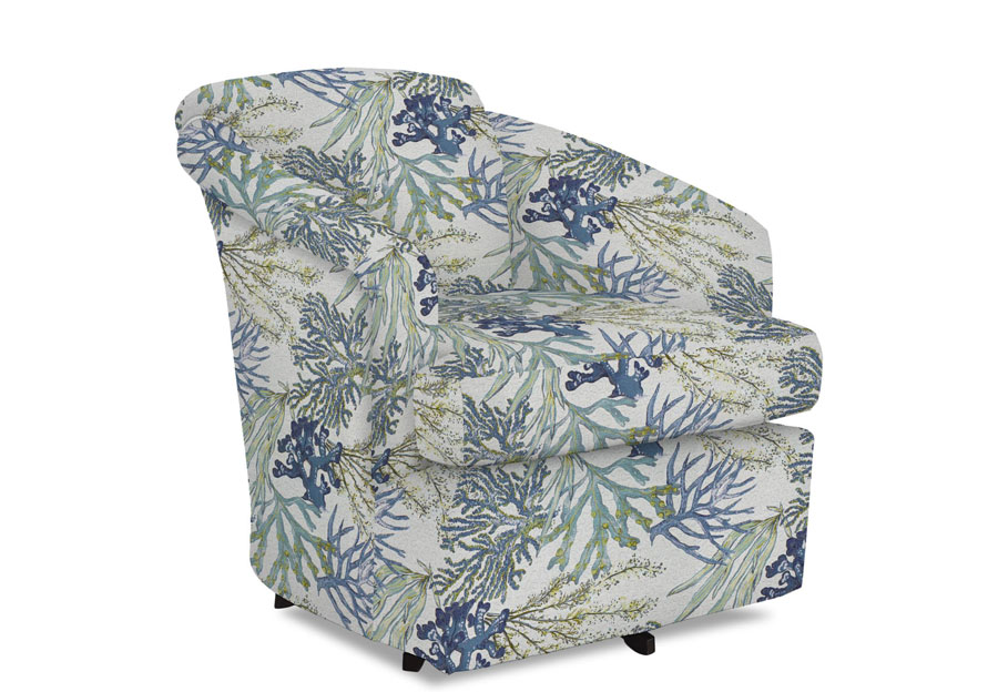 Best Cass Coral Reef Oceanside Swivel Chair