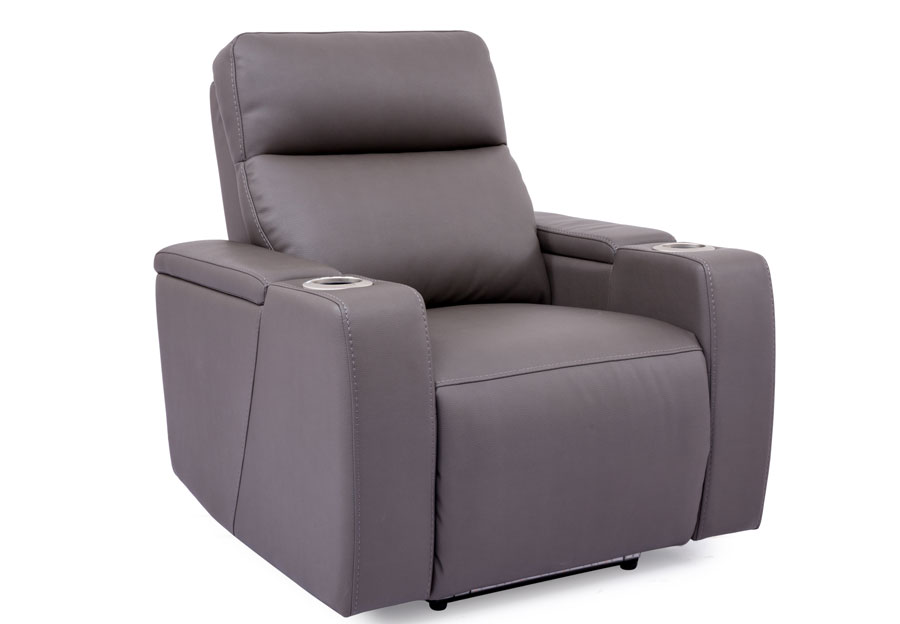 Cheers Lonzo Transformer Grey Dual Power Recliner