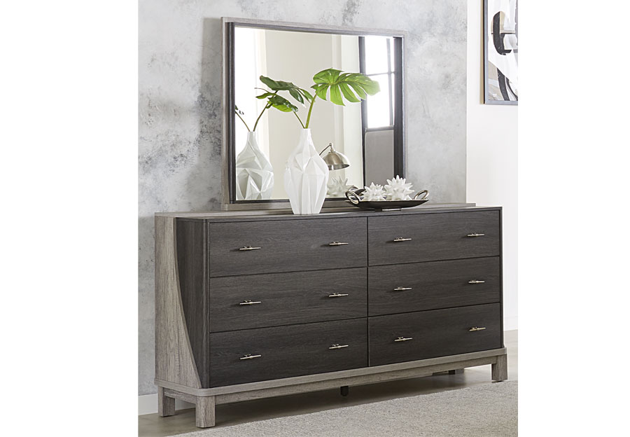Lifestyles Bel Air Six Drawer Dresser