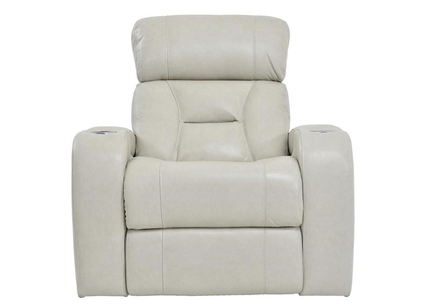 Synergy Luxe Transformer Cream Dual Power Recliner Leather Match