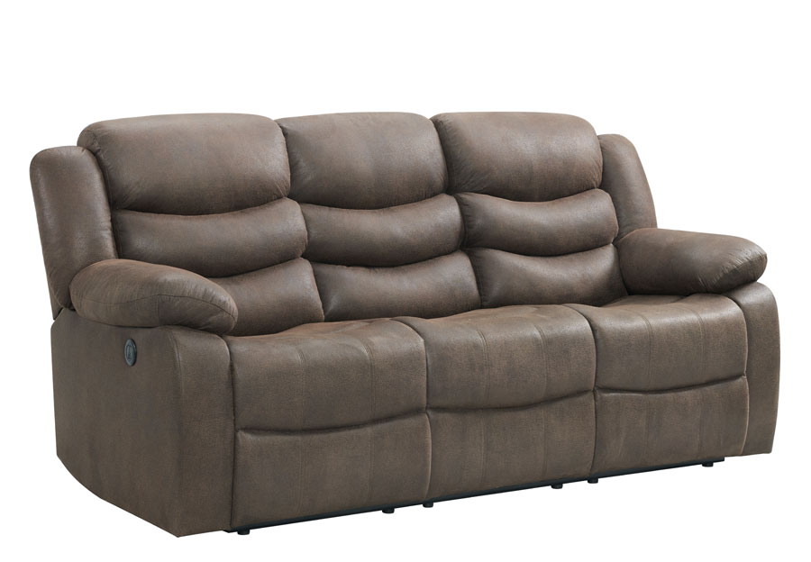 Lane Expedition Java Dual Power Reclining Sofa with USB Ports