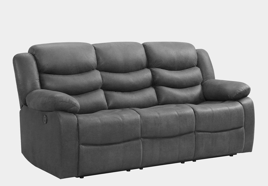Lane Expedition Shadow Grey Manual Reclining Sofa