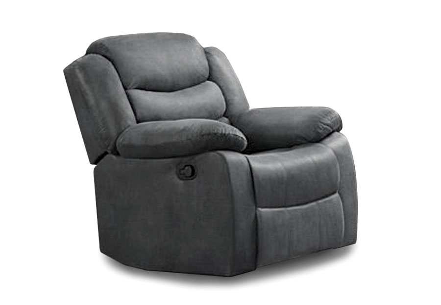Lane Expedition Shadow Grey Power Recliner with USB Ports