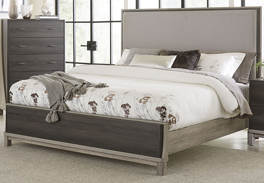 Lifestyles Bel Air King Headboard, Footboard and Siderails