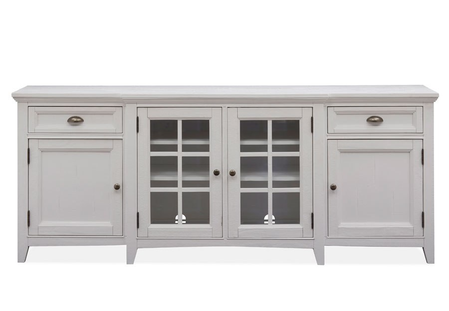 Magnussen Heron Cove White 70 Inch Console