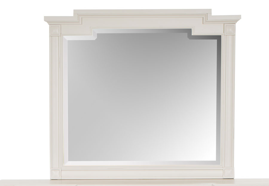 Magnussen Willowbrook White Landscape Mirror