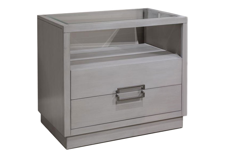 Magnussen Lilliana Open Two-Drawer Nightstand