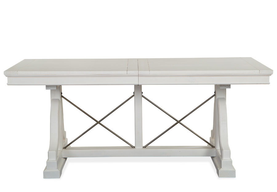 Magnussen Heron Cove White Dining Table