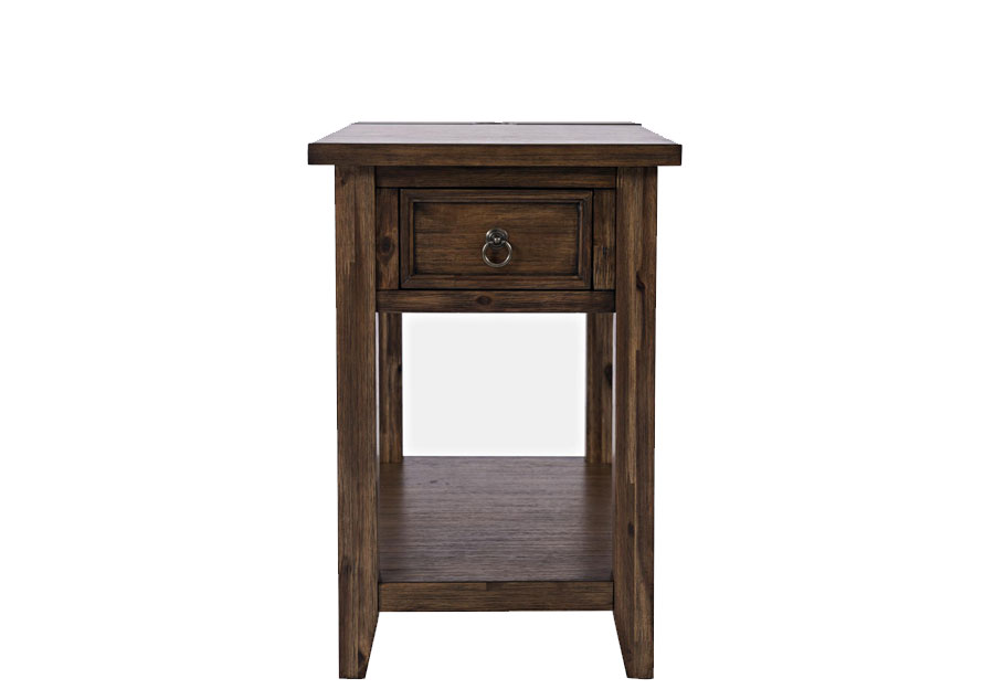 Jofran Bakersfield Power Chairside Accent Table