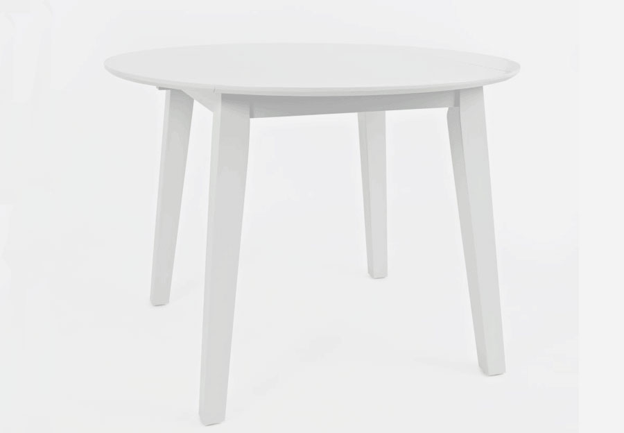 Jofran Simplicity Paperwhite Round Dining Table