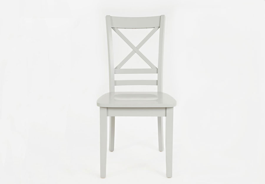 Jofran Simplicity Dove X Back Side Chair