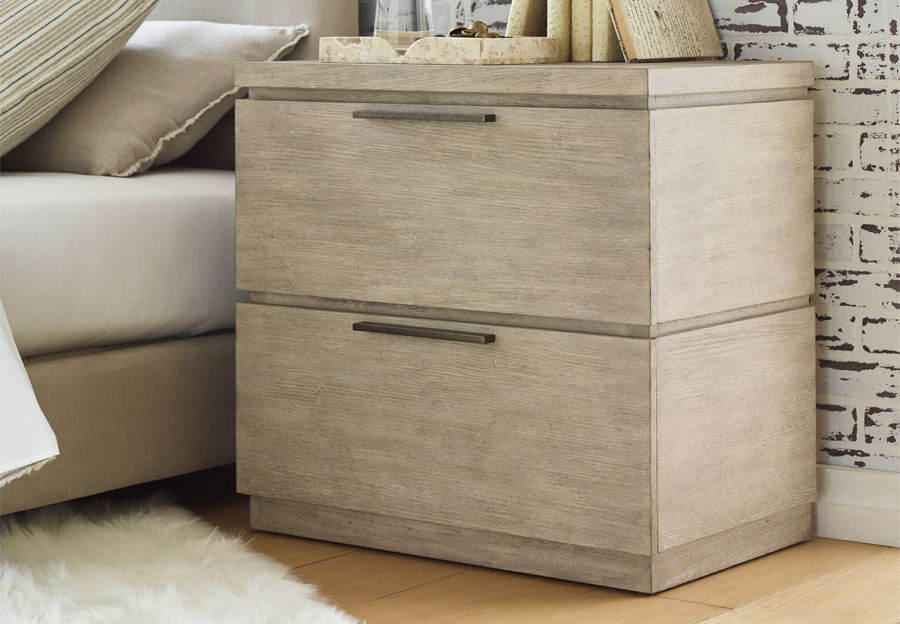 Legacy Rachael Ray Milano Two Drawer Night Stand