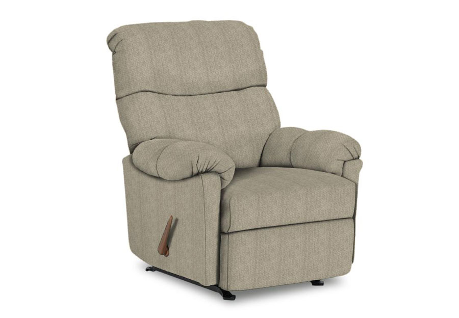 Best Balmore Silver Swivel Glider Recliner