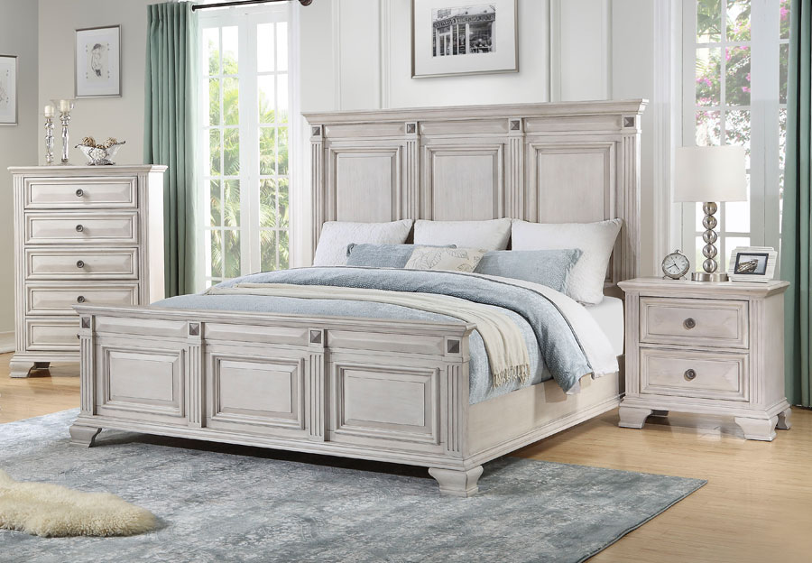 Lifestyle Passages Light King Bed