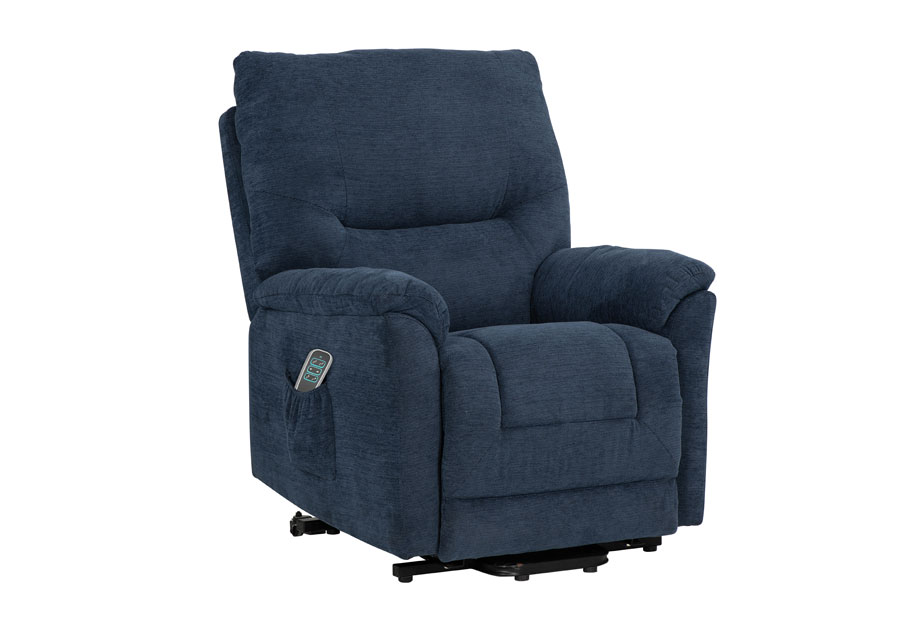 Lane Lucca Navy Power Lift Chair