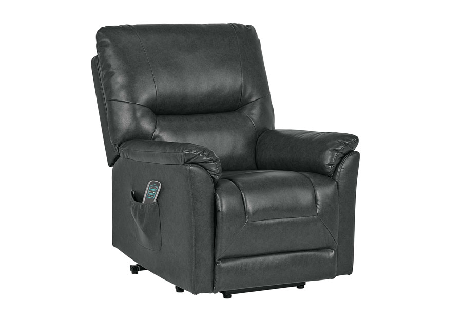 Lane Lucca Charcoal Power Lift Chair